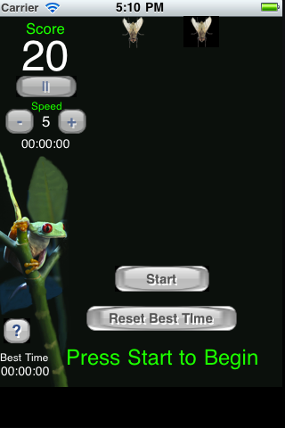 Screenshot Frog v Fly