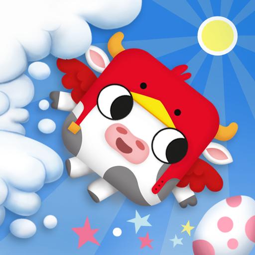 Bouncing Cow Bird iOS